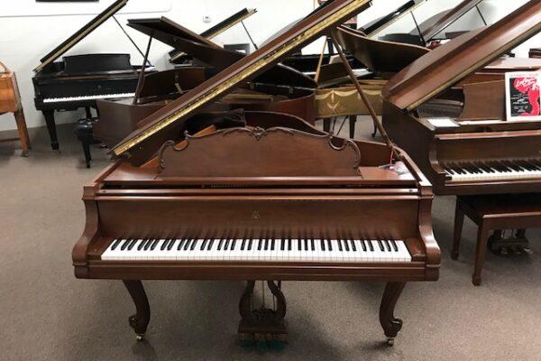 Steinway M Louis XV Baby Grand Piano