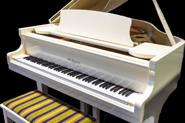 Otto Altenburg Ivory Baby Grand Piano