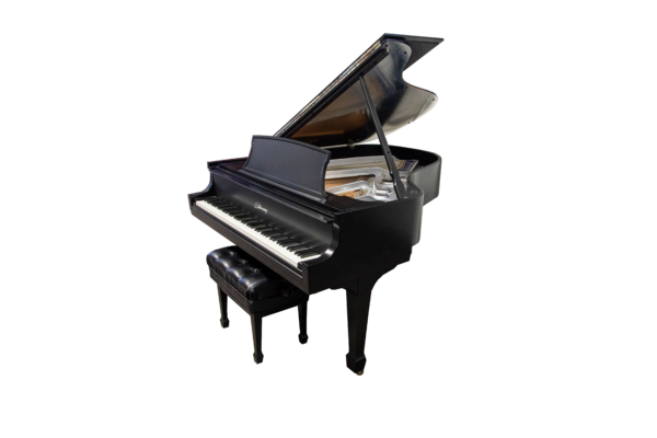 Carbon Fiber Steinway Grand Piano with QRS player system
